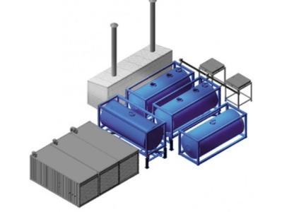 Модульная установка эмульсионной матрицы (МУЭМ)